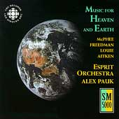 Music for Heaven and Earth / Pauk, Esprit Orchestra