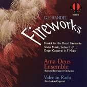 Handel: Fireworks / Radu, Ama Deus Ensemble
