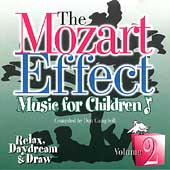 The Mozart Effect Vol 2 - Relax, Daydream & Draw (Blister Pack)