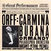 Orff: Carmina burana / Ormandy, Philadelphia Orchestra