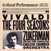 Vivaldi: The Four Seasons / Zukerman, English CO