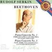 Beethoven: Piano Concertos 1, 3 / Serkin, Ormandy, Bernstein