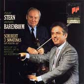 Schubert: 3 Sonatinas, etc / Stern, Barenboim