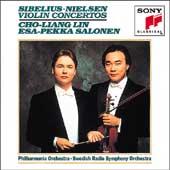 Sibelius, Nielsen: Violin Concertos / Lin, Salonen