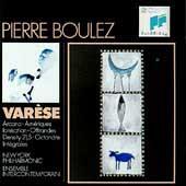 Pierre Boulez Edition- Varese: Ionisation, Ameriques, etc