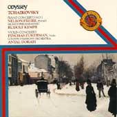 Tchaikovsky: Piano & Violin Concertos / Freire, Zukerman