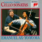 Rachmaninov, Prokofiev: Cello Sonatas / Ma, Ax