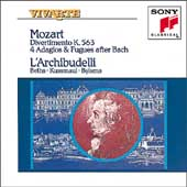 Mozart: Divertimento K 563, etc / L'Archibudelli
