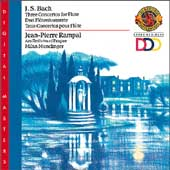 Bach: Three Concertos for Flute / Rampal, Munchinger