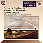 Beethoven: Symphonies 1 & 6 / Szell, Cleveland Orchestra