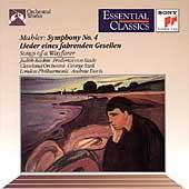 Mahler: Symphony no 4, Songs of a Wayfarer / Szell, Davis