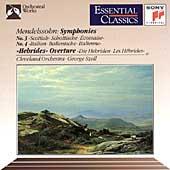 Mendelssohn: Symphonies 3 & 4, etc / Szell, Cleveland Orch