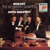 "Mozart: The Six ""Haydn"" Quartets / Artis Quartet"