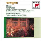 Mozart: Overtures & Serenades / Bruno Weil, Tafelmusik