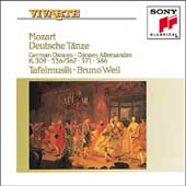 Mozart: German Dances / Weil, Tafelmusik