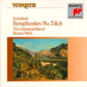 Schubert: Symphonies no 5 & 6 / Bruno Weil, Classical Band