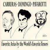 Favorite Arias / Carreras, Domingo, Pavarotti