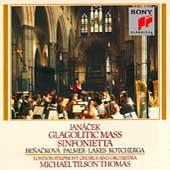 Janacek: Glagolitic Mass, Sinfonietta / Tilson Thomas