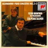 Rachmaninov: Piano Concertos no 2 & 3 / Bronfman, Salonen