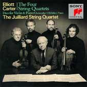 Carter: The Four String Quartets / Juilliard String Quartet