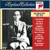 The Copland Collection - Early Orchestral Works 1923-1935