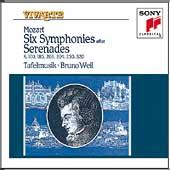 Mozart: Six Symphonies after Serenades / Weil, Tafelmusik