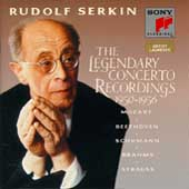 The Legendary Concerto Recordings 1950-1956 / Rudolf Serkin