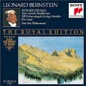 The Royal Edition - R. Strauss: Zarathustra, etc / Bernstein