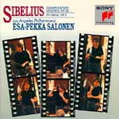 Sibelius: Lemminkaeinen Op 22, etc / Salonen, Los Angeles PO