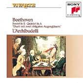 Beethoven: Sextet, Quintet, Duet / L'Archibudelli