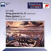 "Dvorak: String Quartet ""American"", etc / Juilliard Quartet"