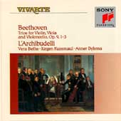 Beethoven: String Trios Op 9 no 1-3 / L'Archibudelli