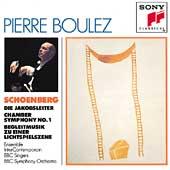 Schoenberg: Die Jakobsleiter, etc / Pierre Boulez