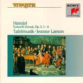 Handel: Concerti Grossi Op 3 / Lamon, Tafelmusik
