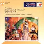 Prokofiev: Symphonies 1 & 5 /Ormandy, Philadelphia Orchestra