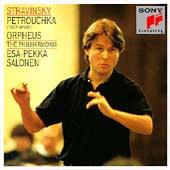Stravinsky: Petrouchka, Orpheus / Salonen, Philharmonia