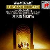 Mozart: Le Nozze di Figaro / Mehta, Gallo, Mattila, et al