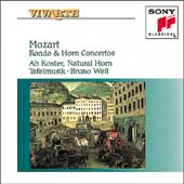 Mozart: Rondo & Horn Concertos / Koster, Weil, Tafelmusik