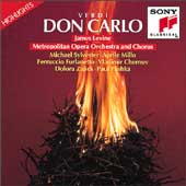 Verdi: Don Carlo - Highlights / Levine, Sylvester, Millo