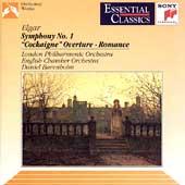Elgar: Symphony no 1, Cockaigne Overture, etc / Barenboim