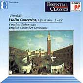 Vivaldi: Violin Concertos Op 8 nos 5-12 / Zukerman