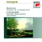 Beethoven: String Trio Op 3, Serenade / L'Archibudelli