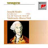 Haydn: Symphonies 45, 46 & 47 / Bruno Weil, Tafelmusik