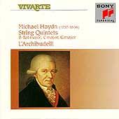 M. Haydn: String Quintets / L'Archibudelli