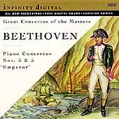 """Beethoven: Piano Concertos nos 3 & 5 """"Emperor"""""""