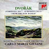 Dvorak: Symphonies no 7 & 9 / Giulini, Concertgebouw