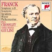 Franck: Symphony, Symphonic Variations / Giulini, Crossley