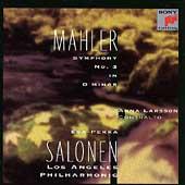 Mahler: Symphony no 3 / Salonen, Larsson, Los Angeles PO