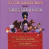 Shostakovich: Piano Concertos no 1 & 2, etc /Bronfman, et al