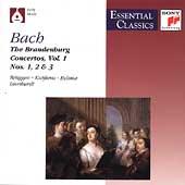 Bach: Brandenburg Concertos Vol 1 / Gustav Leonhardt, et al